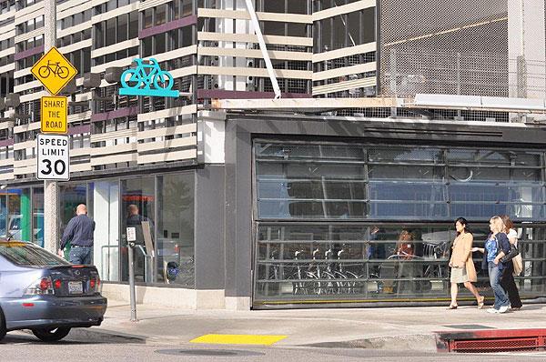 2nd/Colorado bike center location.
