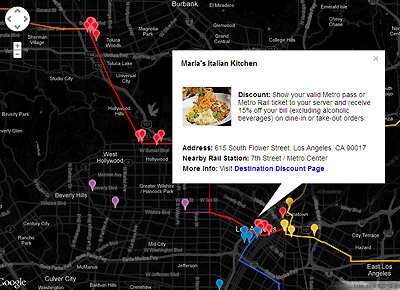 Map: Late Night Service Discounts