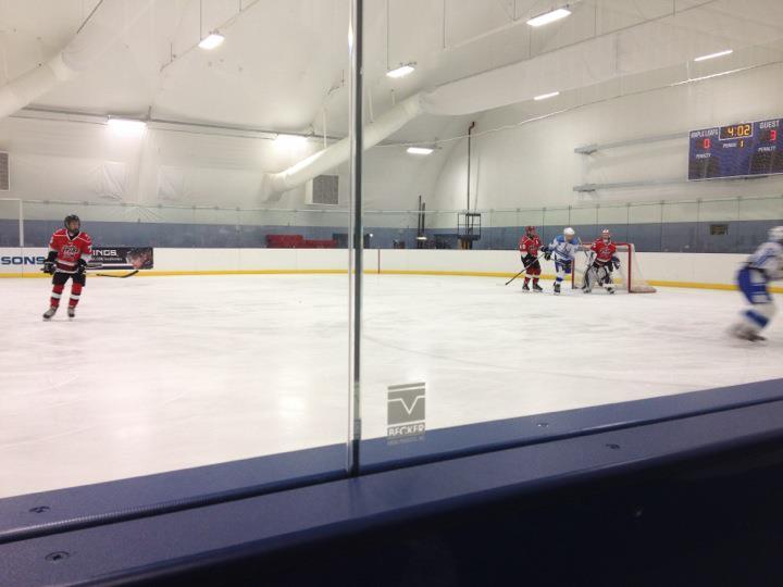 Bantam hockey at Pasadena Ice Skating Center