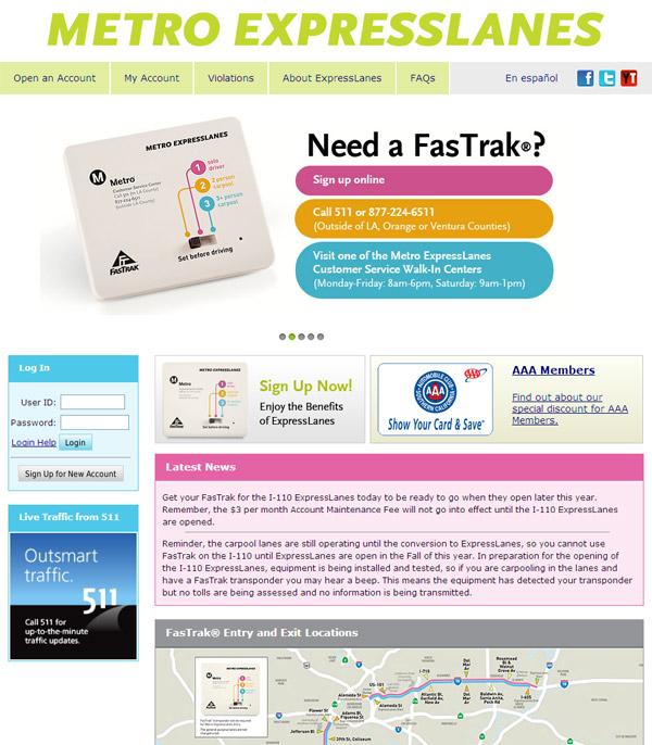 metroexpresslanes.net