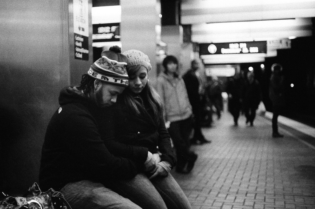 ART OF TRANSIT: Happy Second Thursday in February, People. Photo is from Boston earlier this month by Craig Cloutier , via Flickr creative commons.