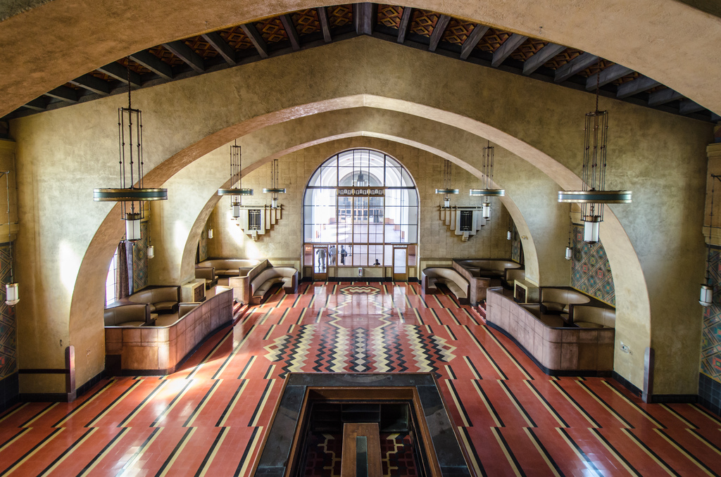 The old Harvey House restaurant is currently used for special functions and filming. Photo by Steve Hymon/Metro.