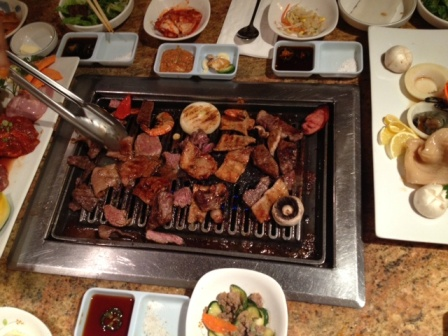Korean barbecue at Taoe Galbi. Photo by Kim Upton/Metro