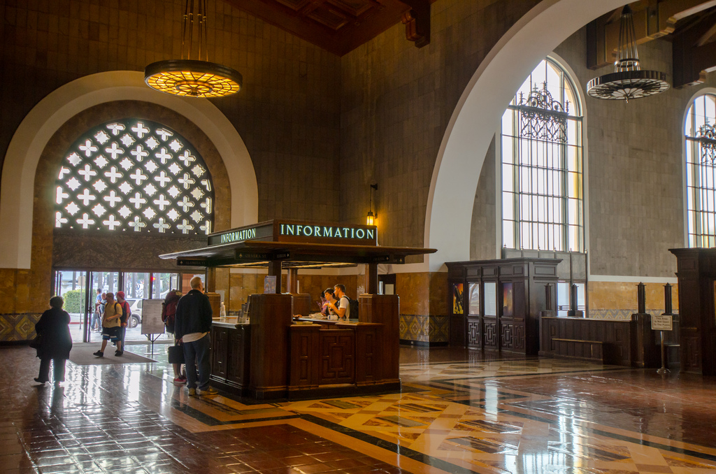 The front entrance to Union Station. Photo by Steve Hymon/Metro.