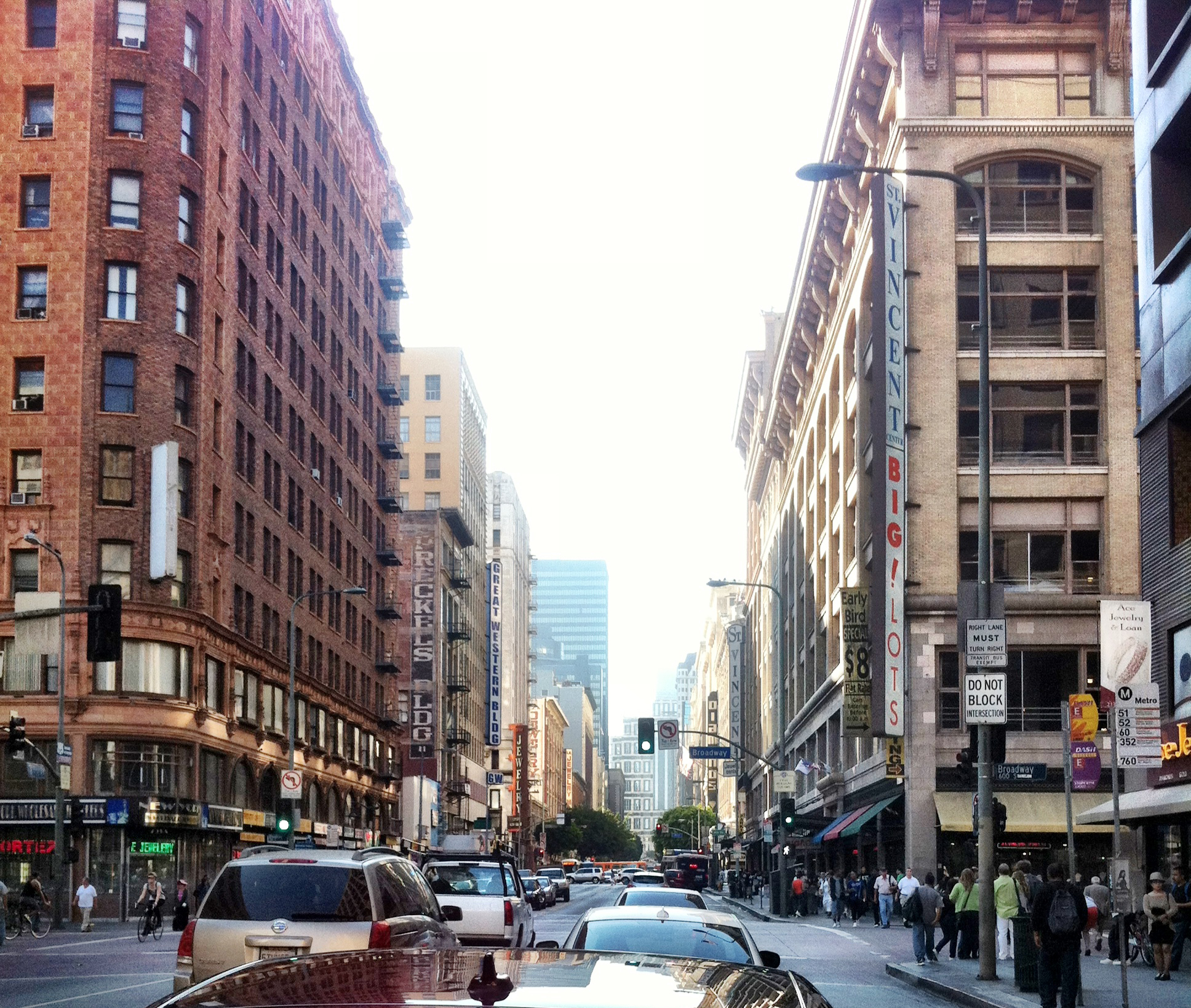 Photo: Downtown LA at 7th / Broadway