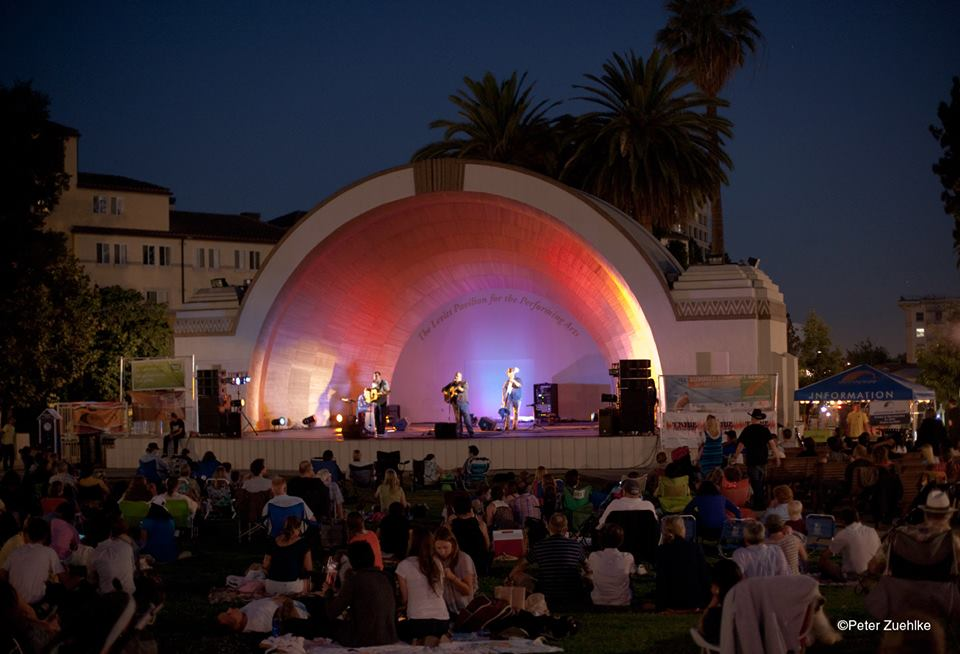 Levitt Pavilion Pasadena. Photo: Peter Zuehlke