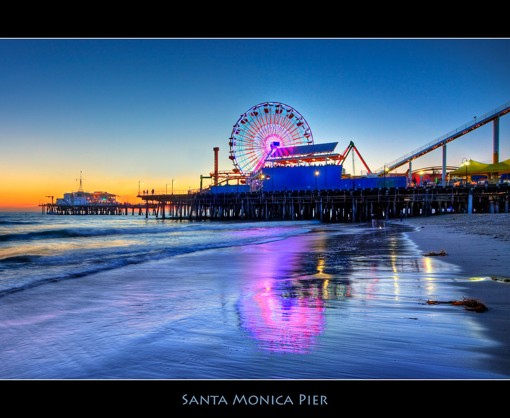 Gorgeous shot of Santa Monica Pier. Wait until Glow really lights it up! Photo: szeke via Flickr Creative Commons