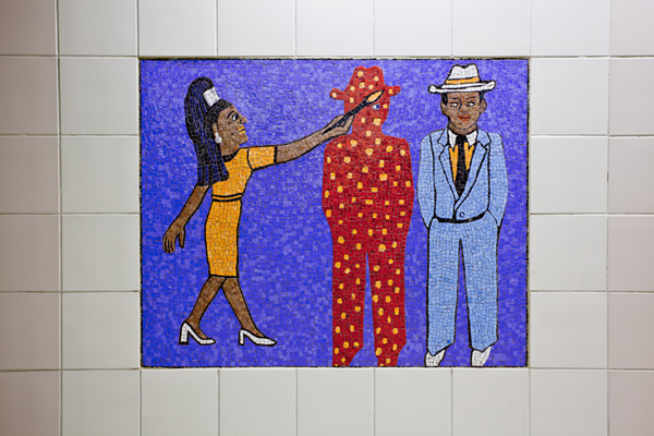 Civic Center/Grand Park Station, Faith Ringgold, Artist. Photo: Metro Creative Services