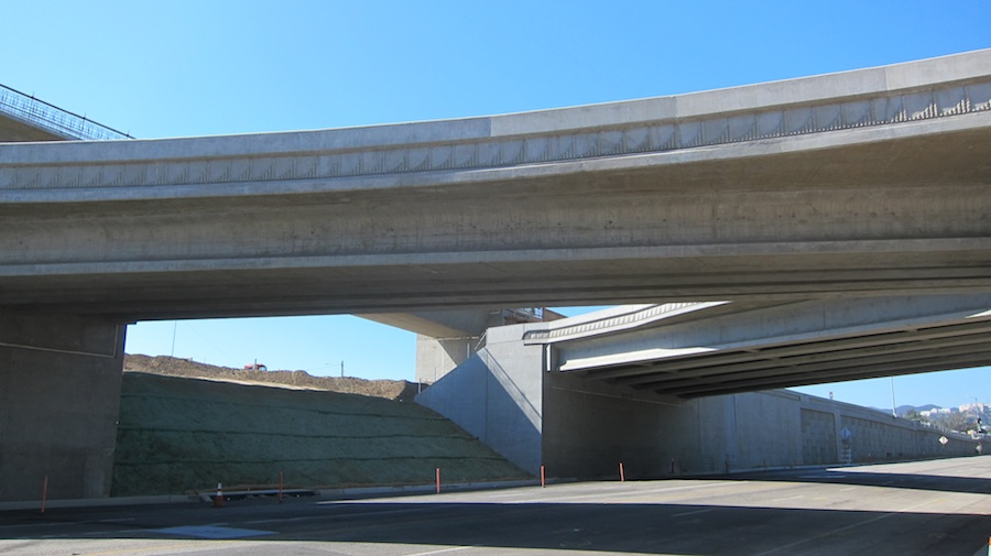 The reconstructed Wilshire Interchange will have 75 percent greater capacity.
