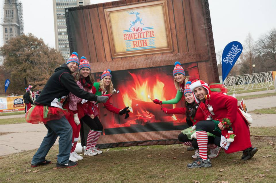 Photo: The Ugly Sweater Run Official Facebook