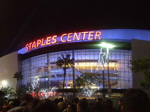 Staples_Center_Night