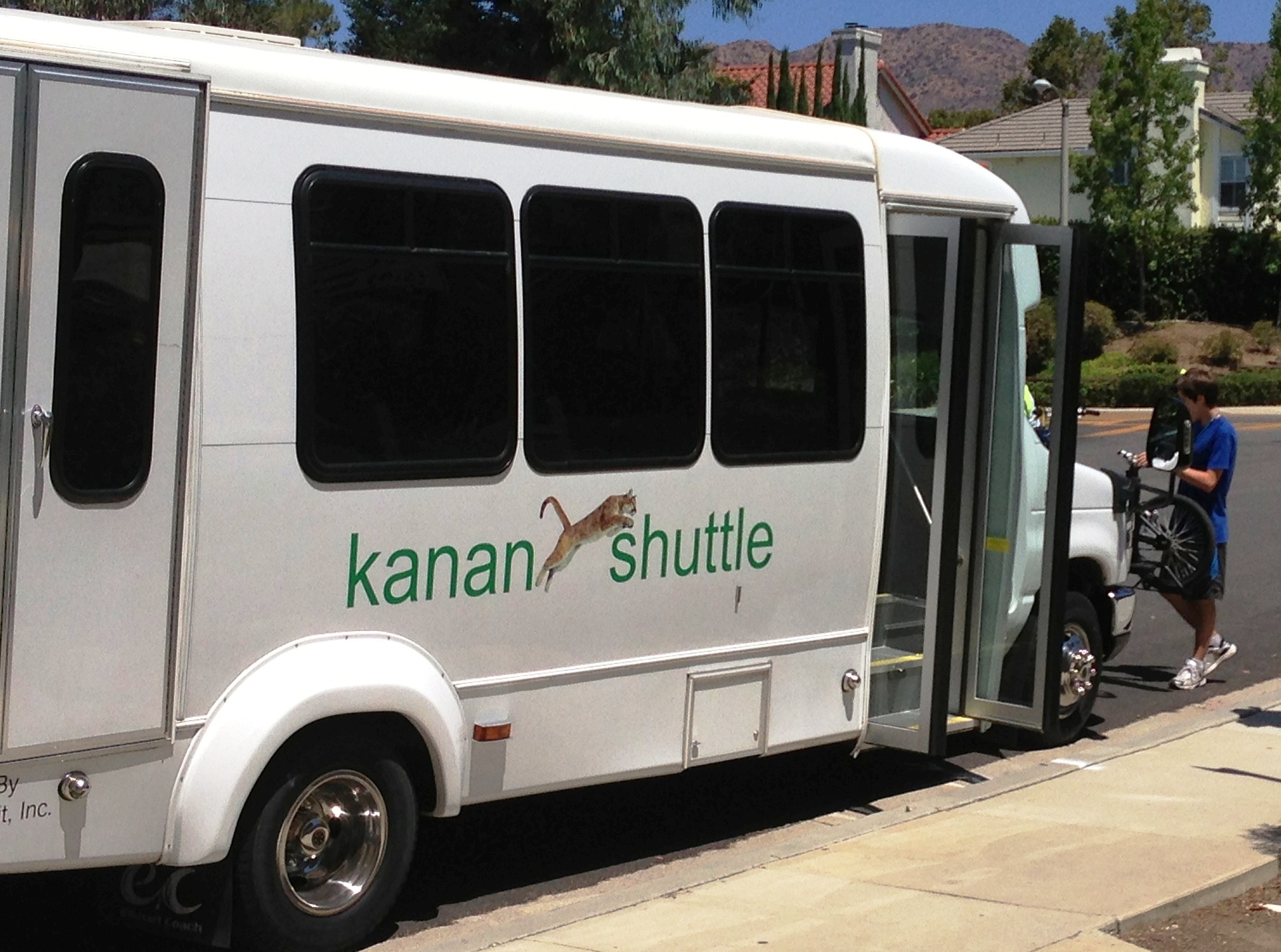 The Oak Park Kanan Shuttle. Photo courtesy of Consortium Media.