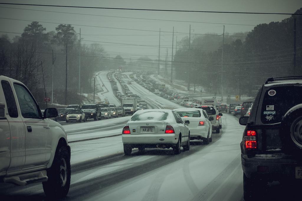 Snowpocalypse! Photo by William Brawley, via Flickr creative commons.