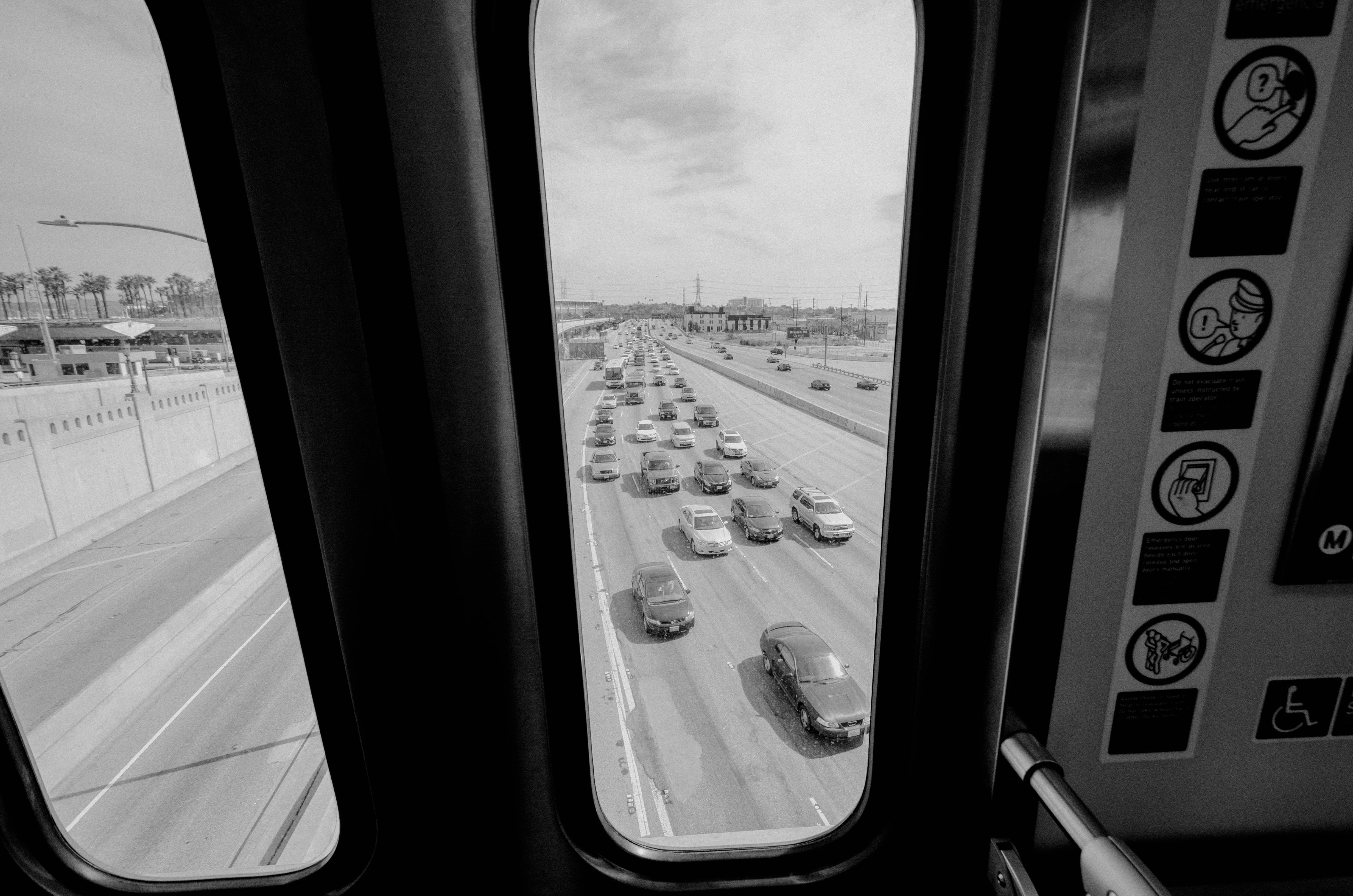 ART OF TRANSIT: Mid-day traffic constipation on the 101. Photo by Steve Hymon/Metro.