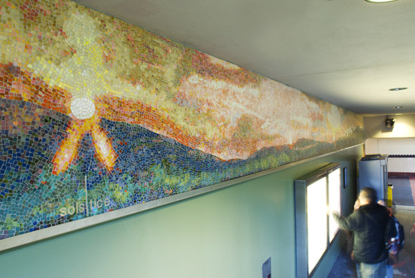 Solar Shift: San Berdadino and Santa Monica by Roy Nicholson, 2006.