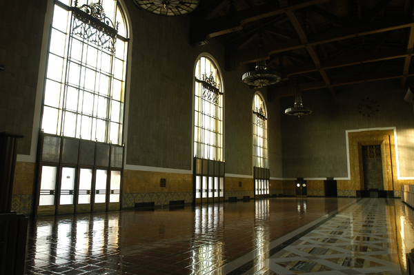 The Old Ticket Concourse inside Union Station