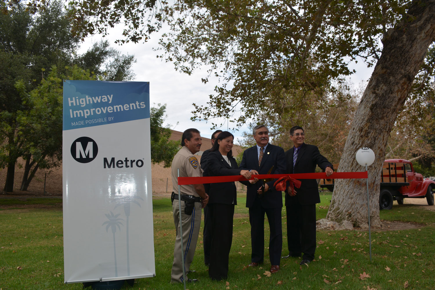 Transportation Officials Celebrate Opening of New Sound Wall Projects in the San Fernando Valley