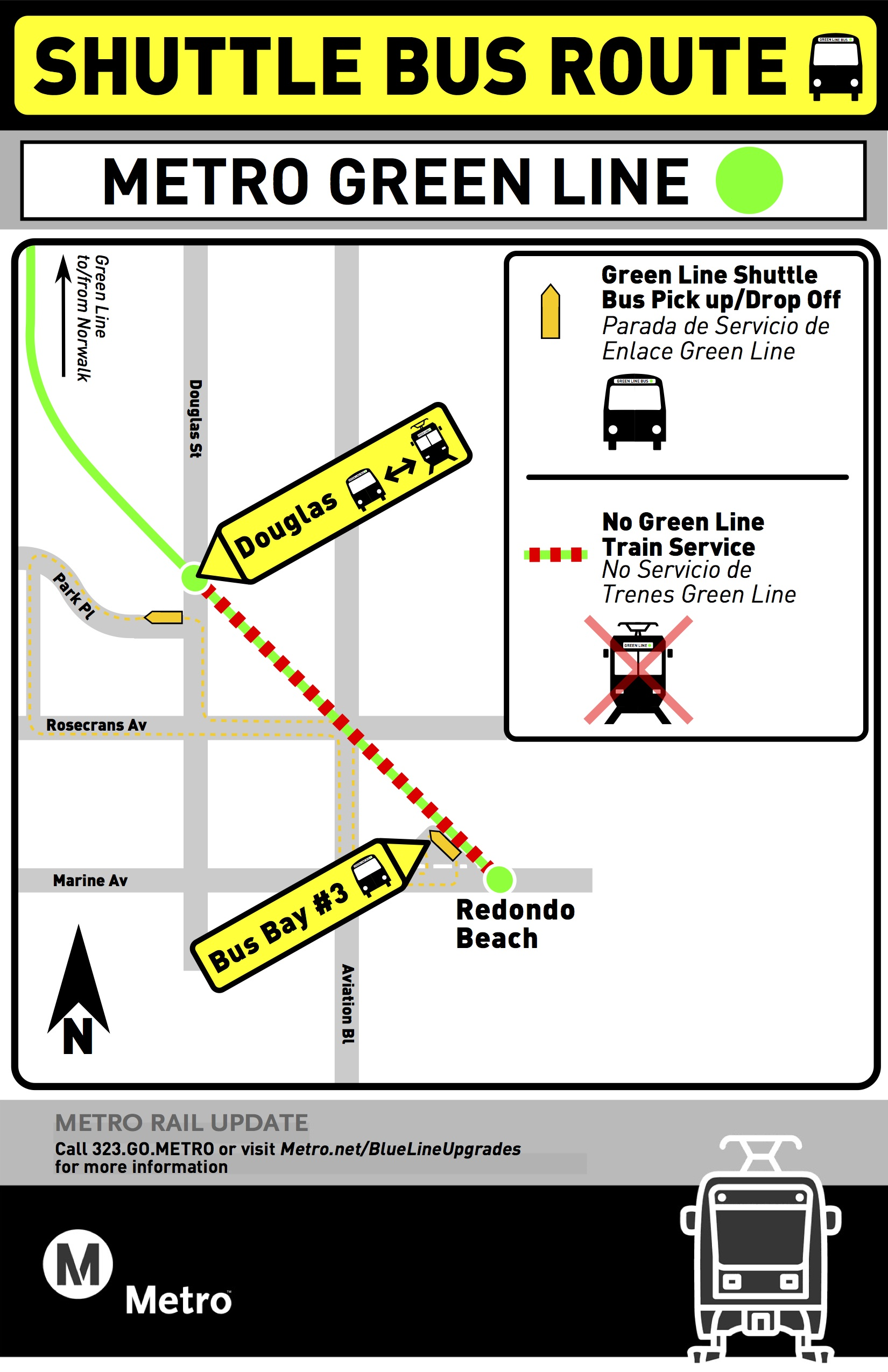 Douglas to Redondo Closure