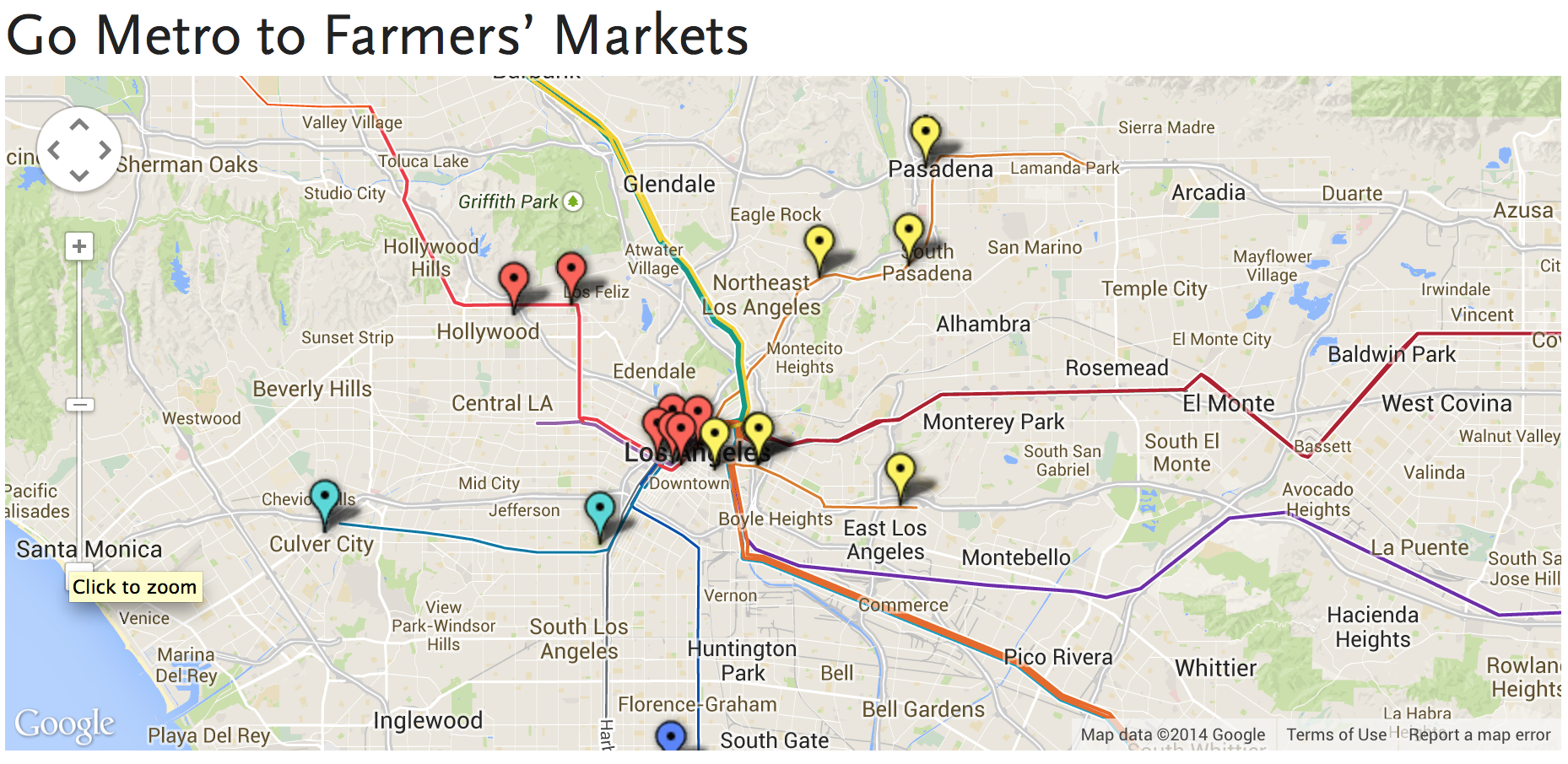 Fresh Healthy And Delicious Go Metro To Farmers Markets The - Us media market map