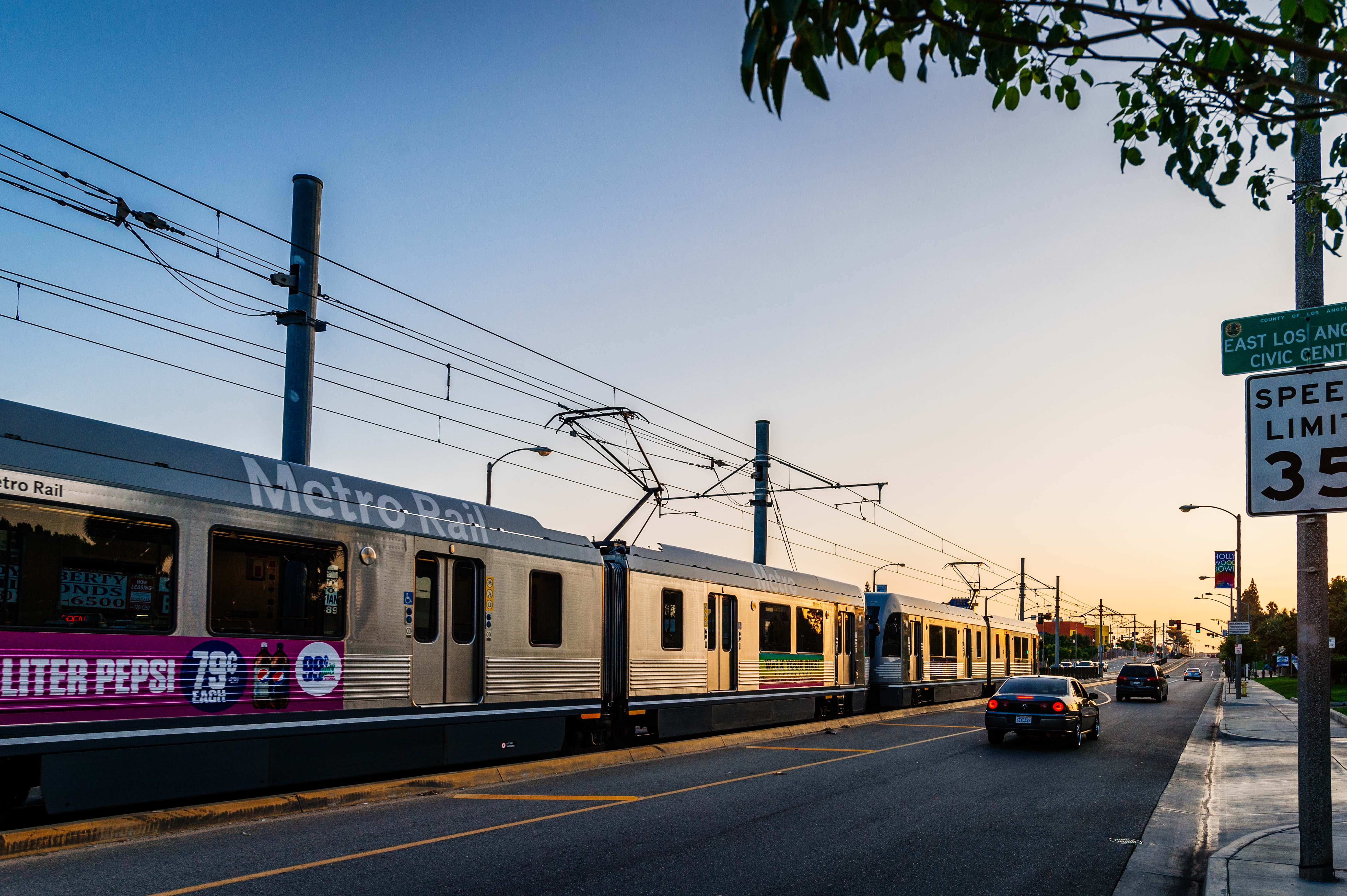 ART OF TRANSIT: The Eastside Gold Line Extension celebrated its fifth birthday this weekend. Photo by Steve Hymon/Metro.