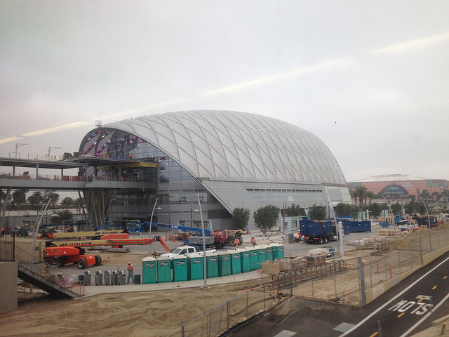 The ARTIC during construction in October. Photo by DearEdward via Flickr creative commons.