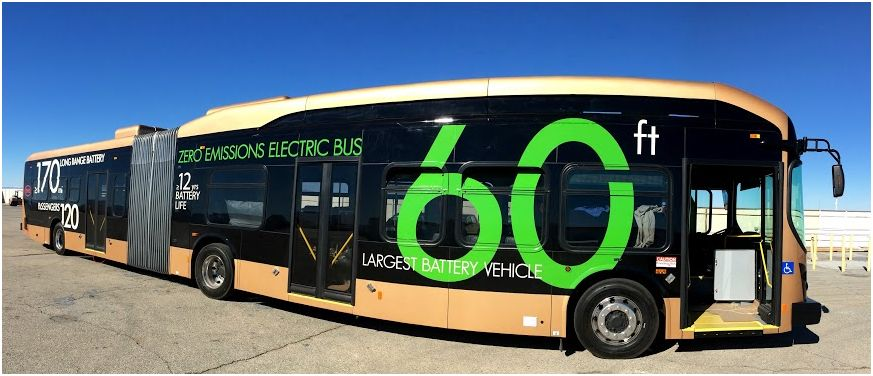 BYD 60ft electric bus