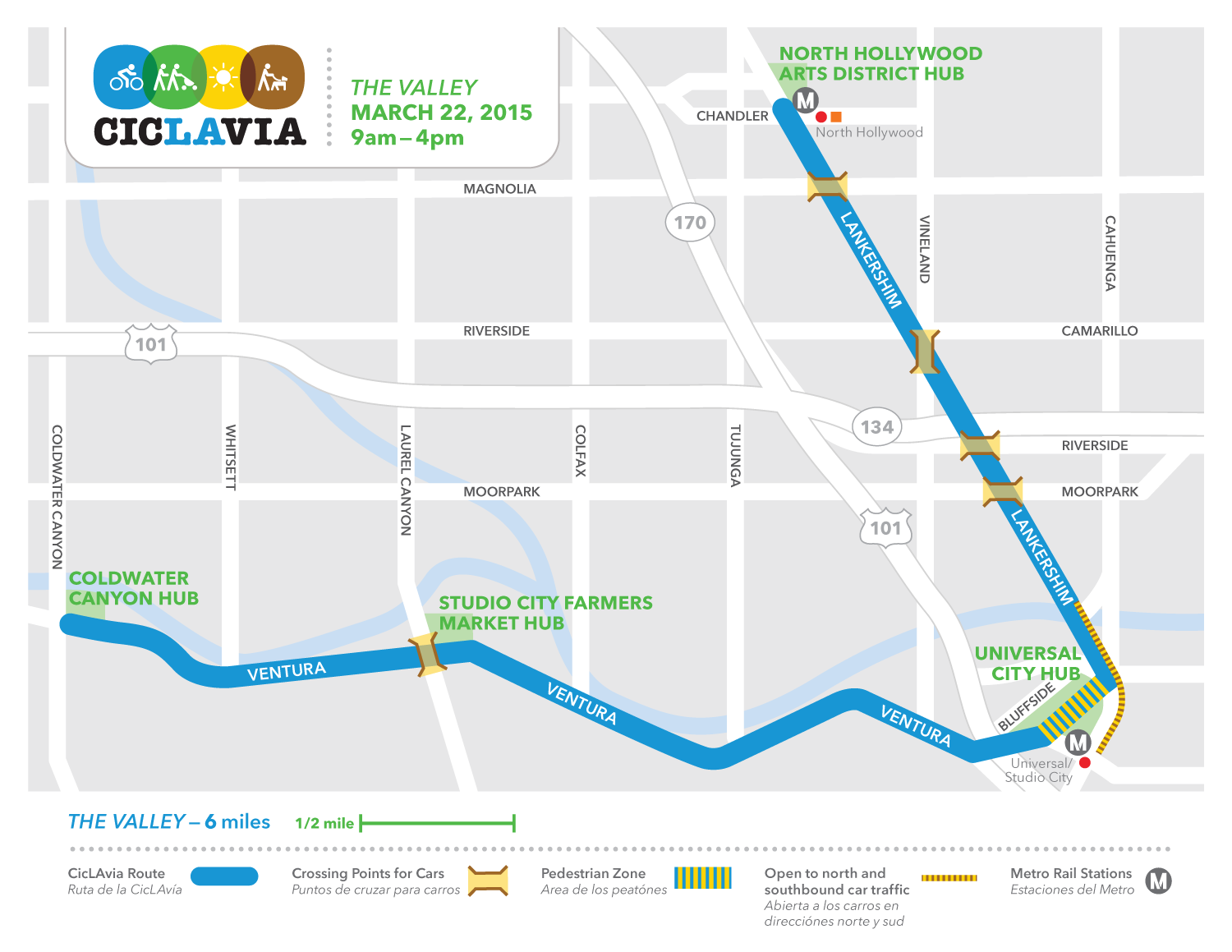 Metro Presents CicLAvia in the San Fernando Valley