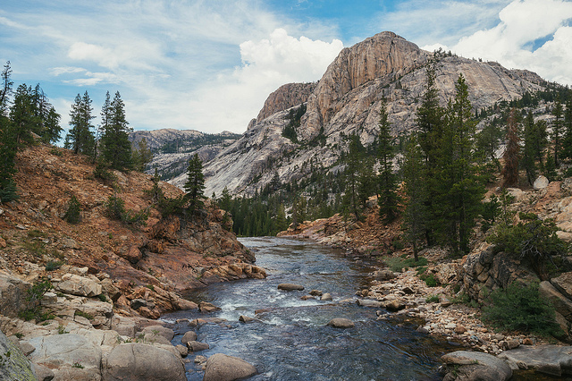 Glen Aulin, a fun hike from Tuolumne Meadows in Yosemite. Photo by Steve Hymon.