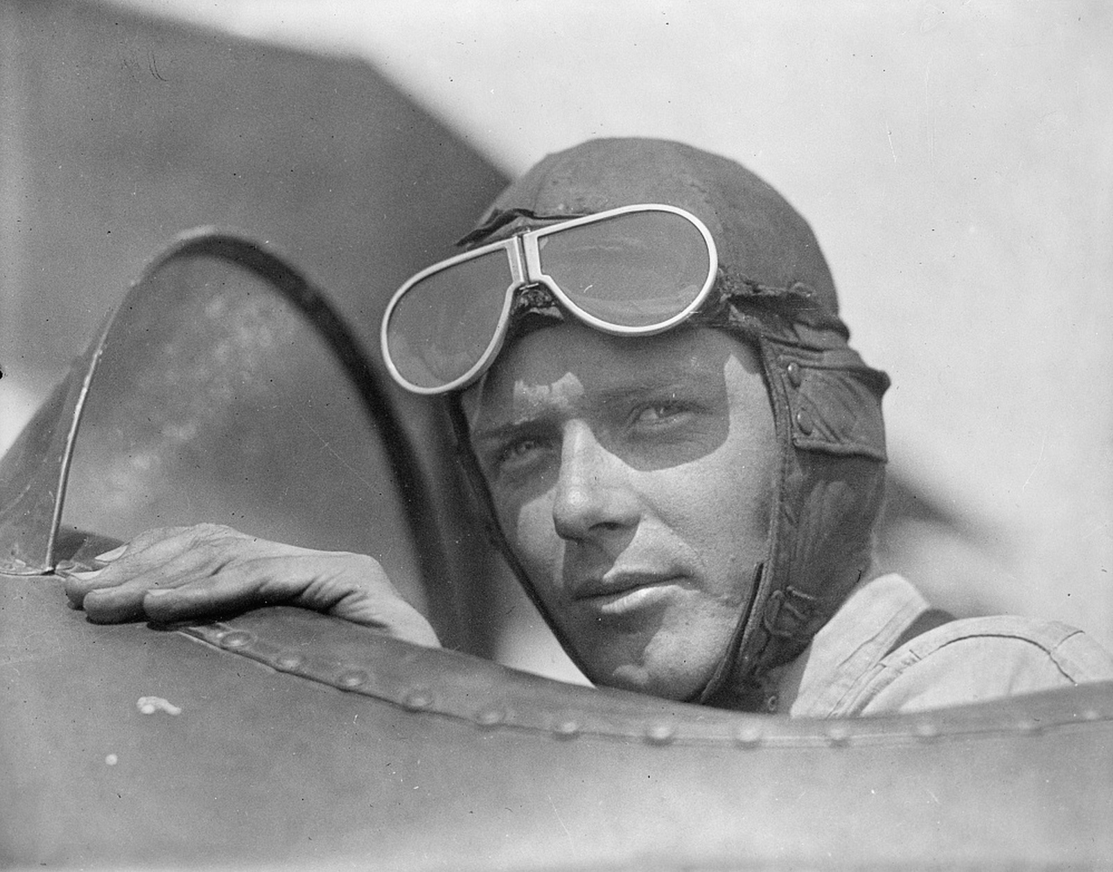 Charles Lindbergh figures prominently in Bryson's latest book. Photo: Library of Congress.
