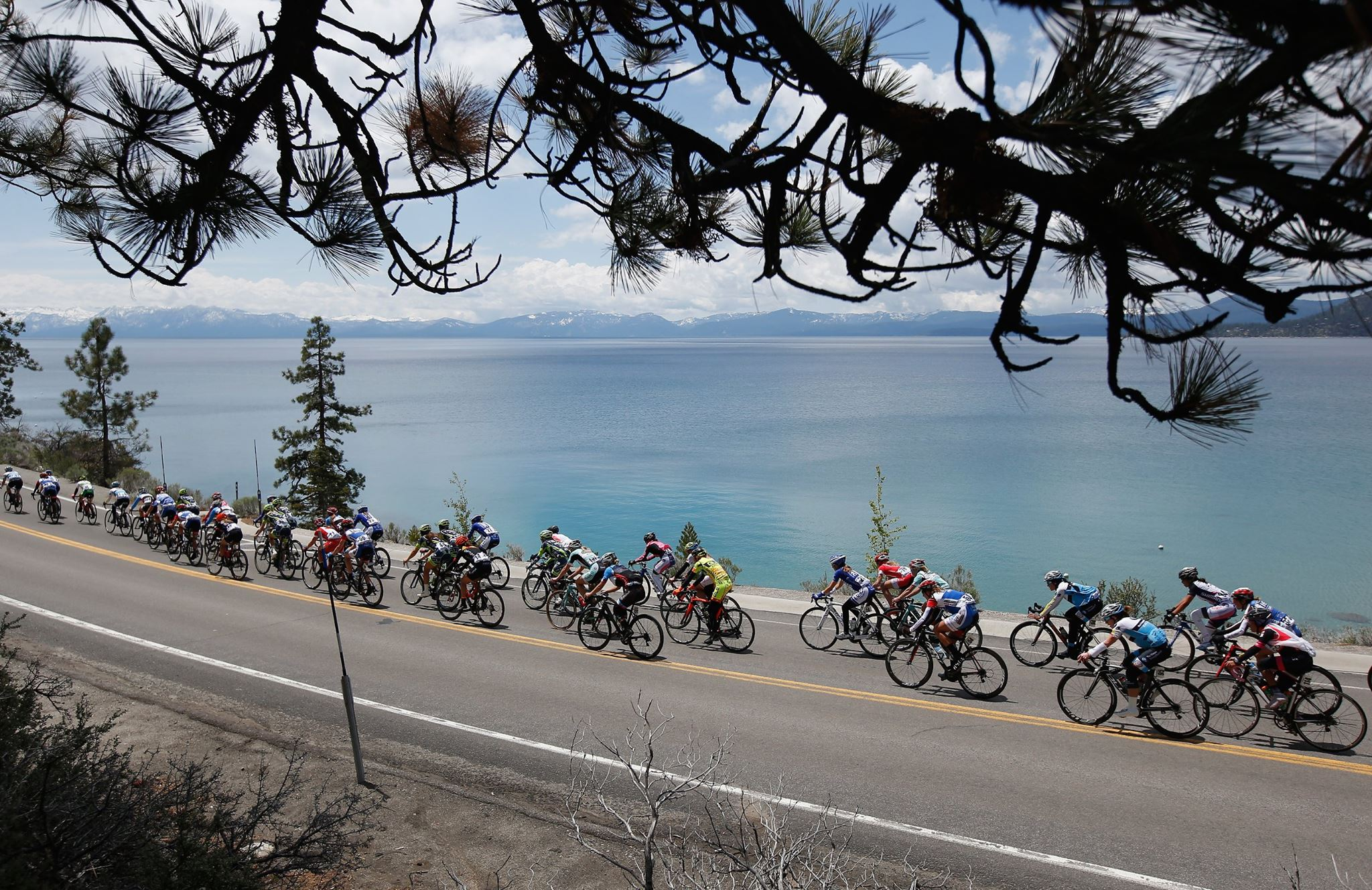 Scenery from the Amgen Tour of California bike race. Photo: Amgen Tour of California Facebook