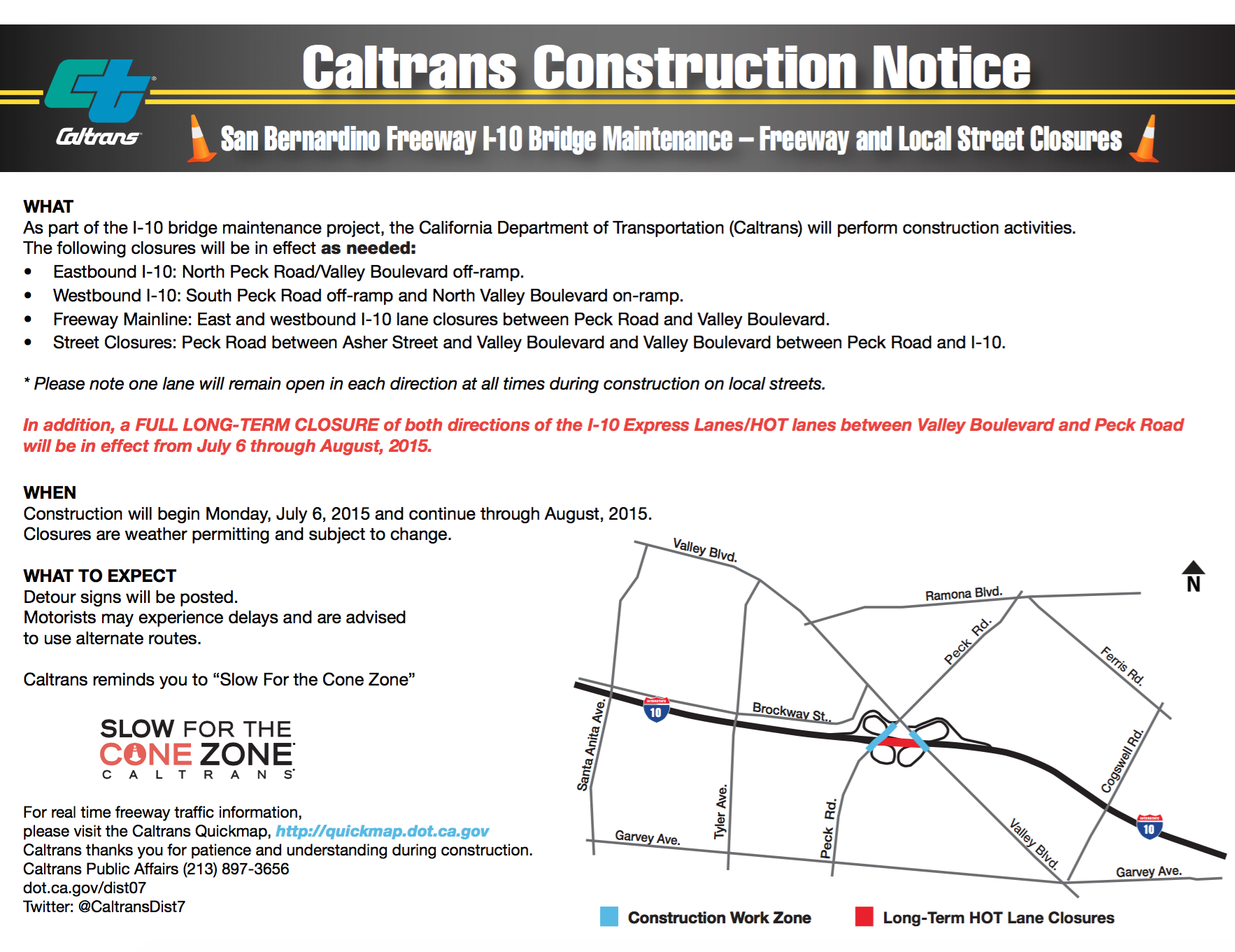 caltrans expresslanes closure