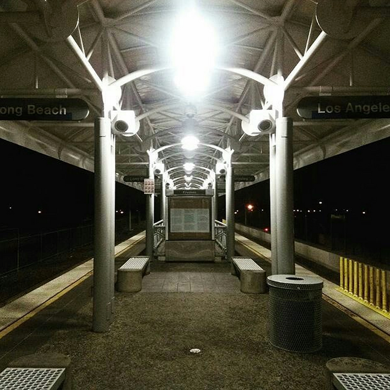 Upgraded Firestone Blue Line Station. Photo via Instagram @hour38