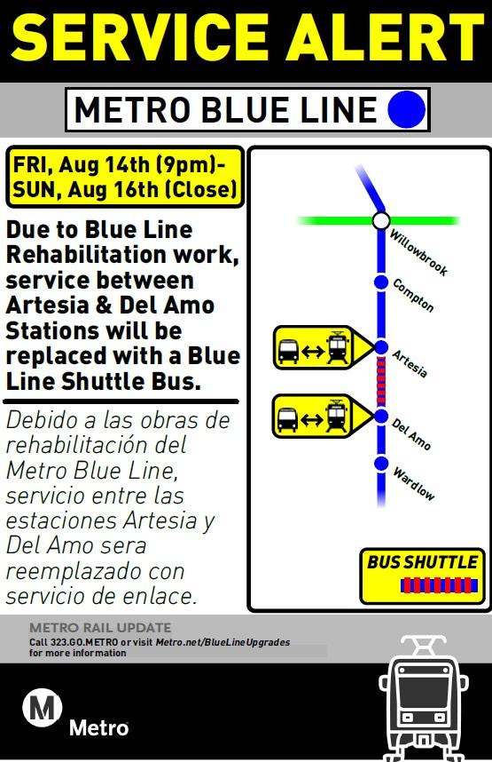 Artesia-Del Amo bus shuttle