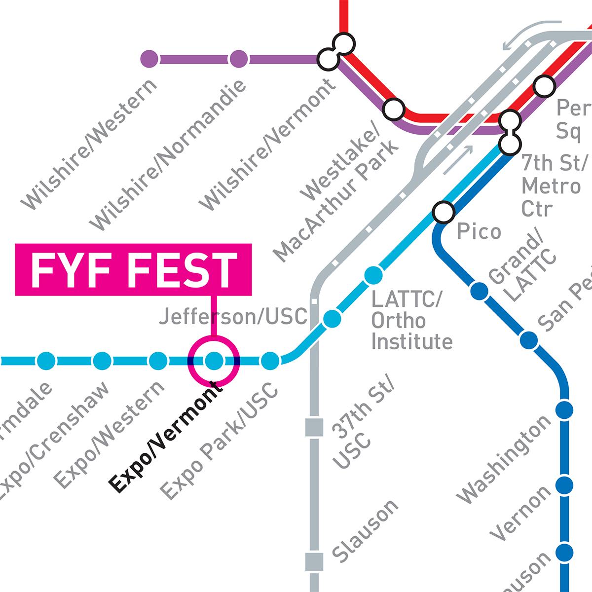 fyf fest station map