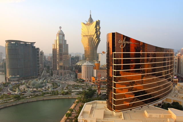 The Macau skyline. Hmm. Any similarities to Vegas? Photo by Lee Jing Xi, via Flickr creative commons.