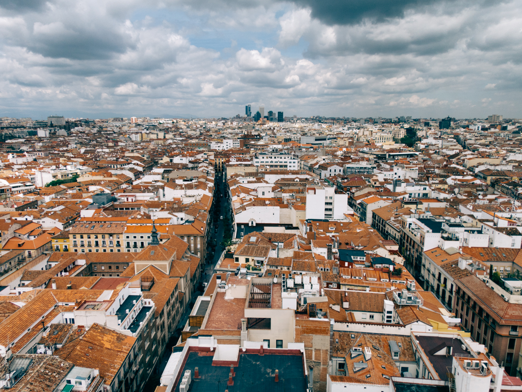 One view of Madrid. Photo by Jose Maria Cuellar, via Flickr creative commons.