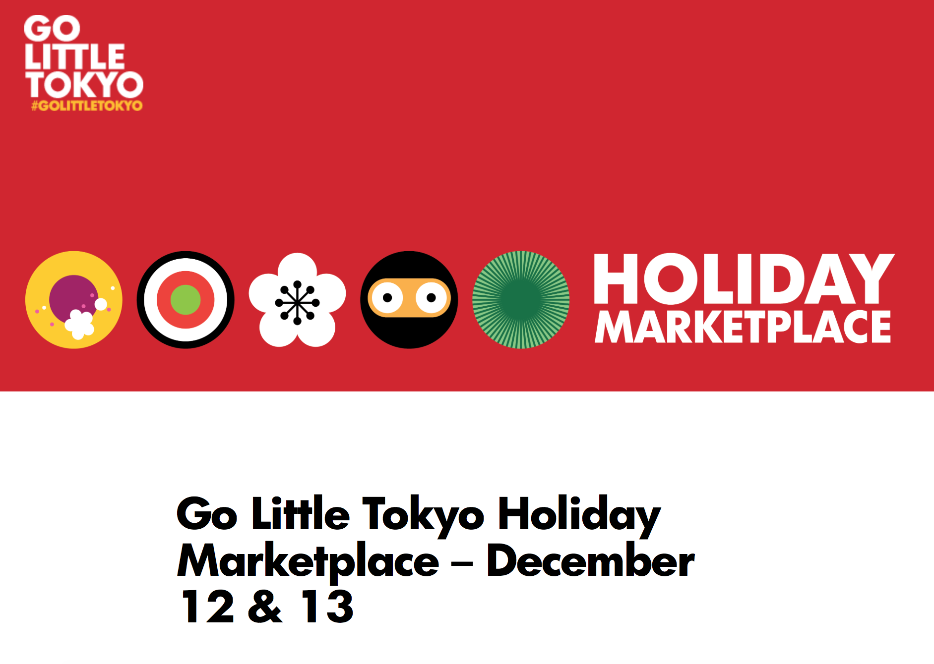 little tokyo market holiday