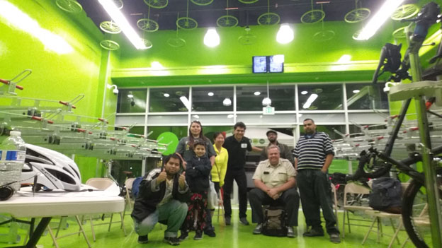 Metro Bike Hub El Monte hosted a Commuting 101 Clinic on December 9, 2015.