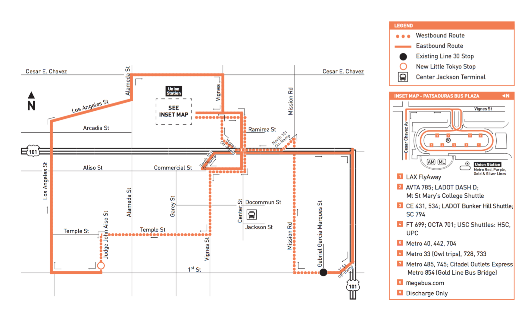 gold line bus shuttle map update