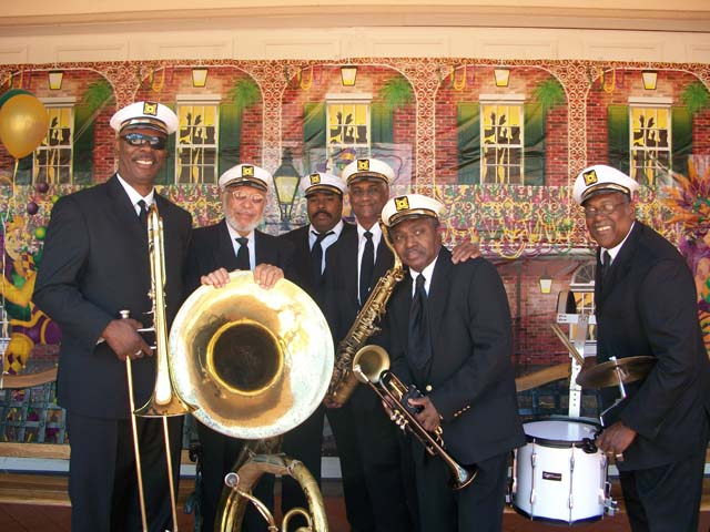 The New Orleans Traditional Jazz Band