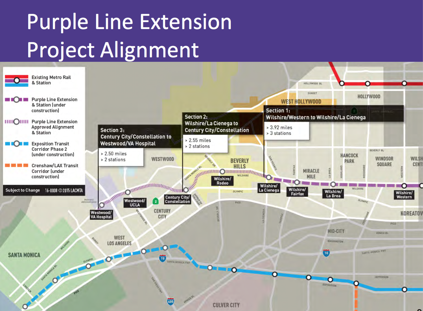 Measure M Purple Line Subway To Westwood Acceleration The Source - Los angeles map westwood