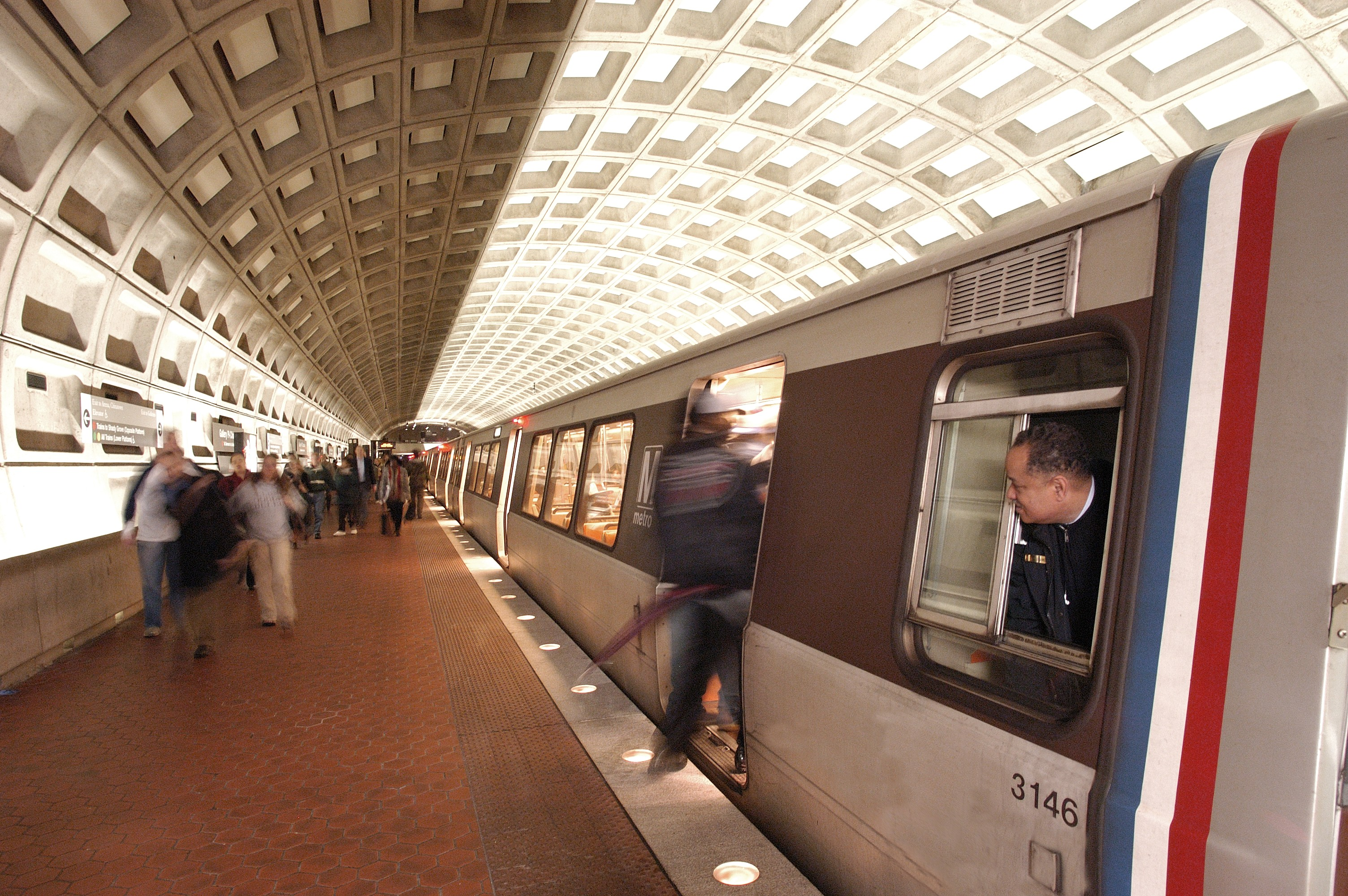 Photo: Washington Metro.