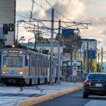 Expo Line extension on Colorado Avenue in Santa Monica.