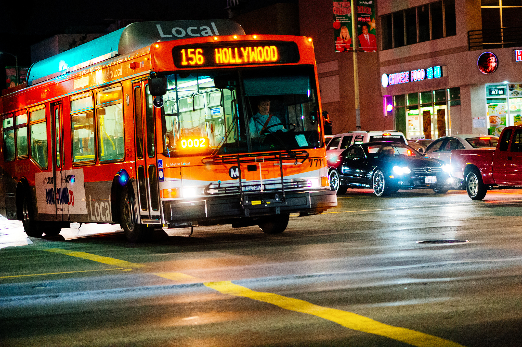 The traditional fixed-route bus. Photo by Steve Hymon/Metro.