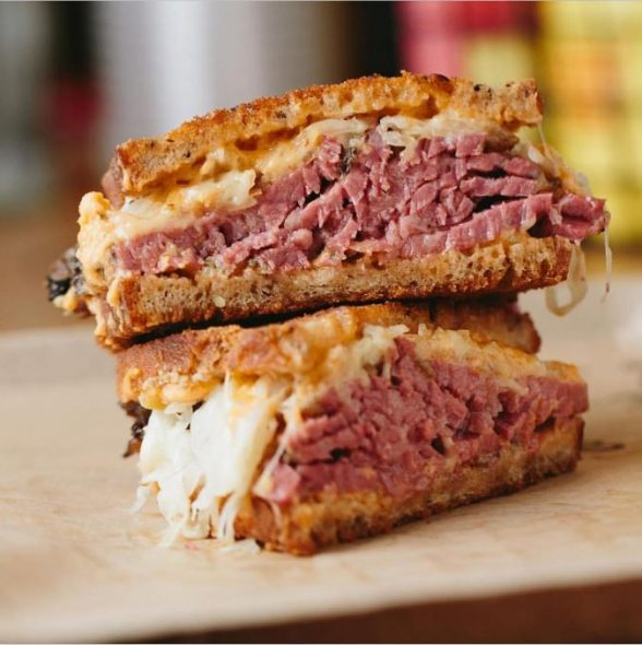 Reuben from Wexler's Deli Instagram