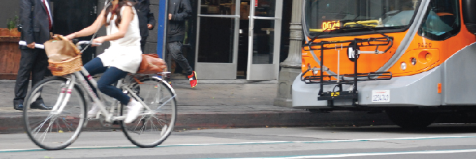 Metro now studying interactions between bikes and buses.