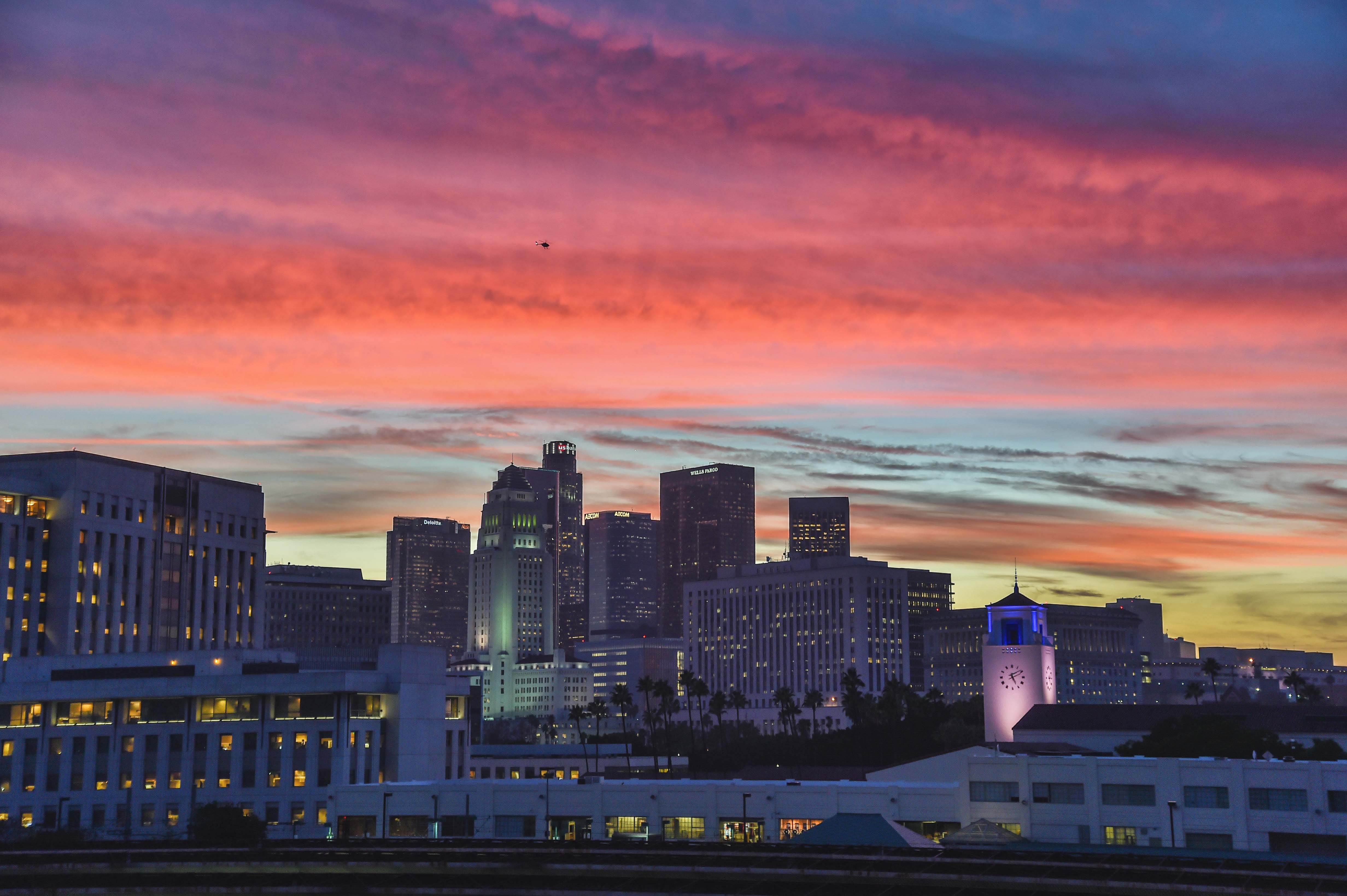 The future seems bright for the L.A. region. Photo by Steve Hymon/Metro.