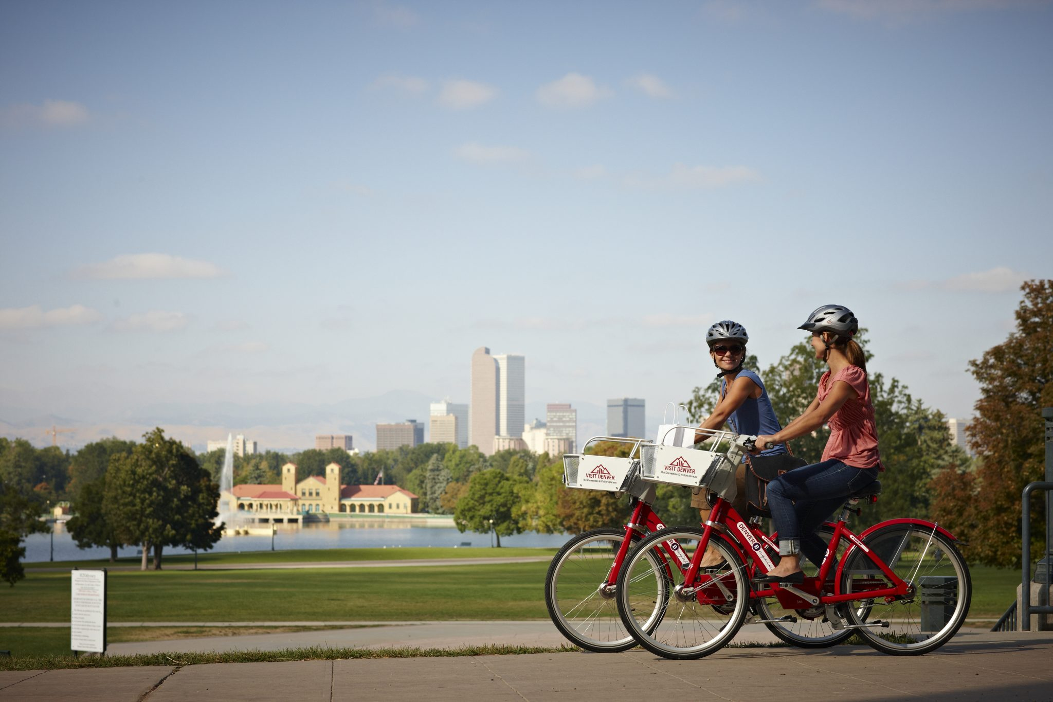 Bike share in Denver, one of the early adopters in the U.S. Credit: Denver B-cycle.