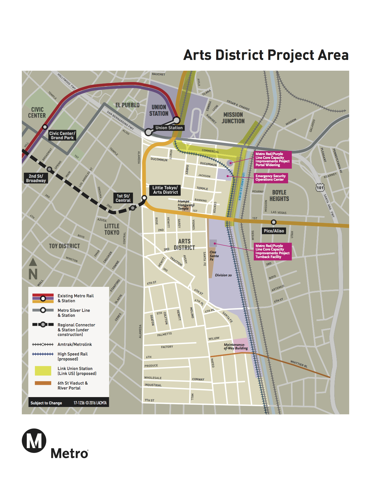 Subway Capacity Project Coming Soon The Source - Los angeles metro expansion map