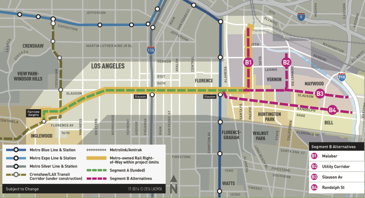 Two Rail Openings Bike Share A Ballot Measure And A Very - Los angeles metro expansion map